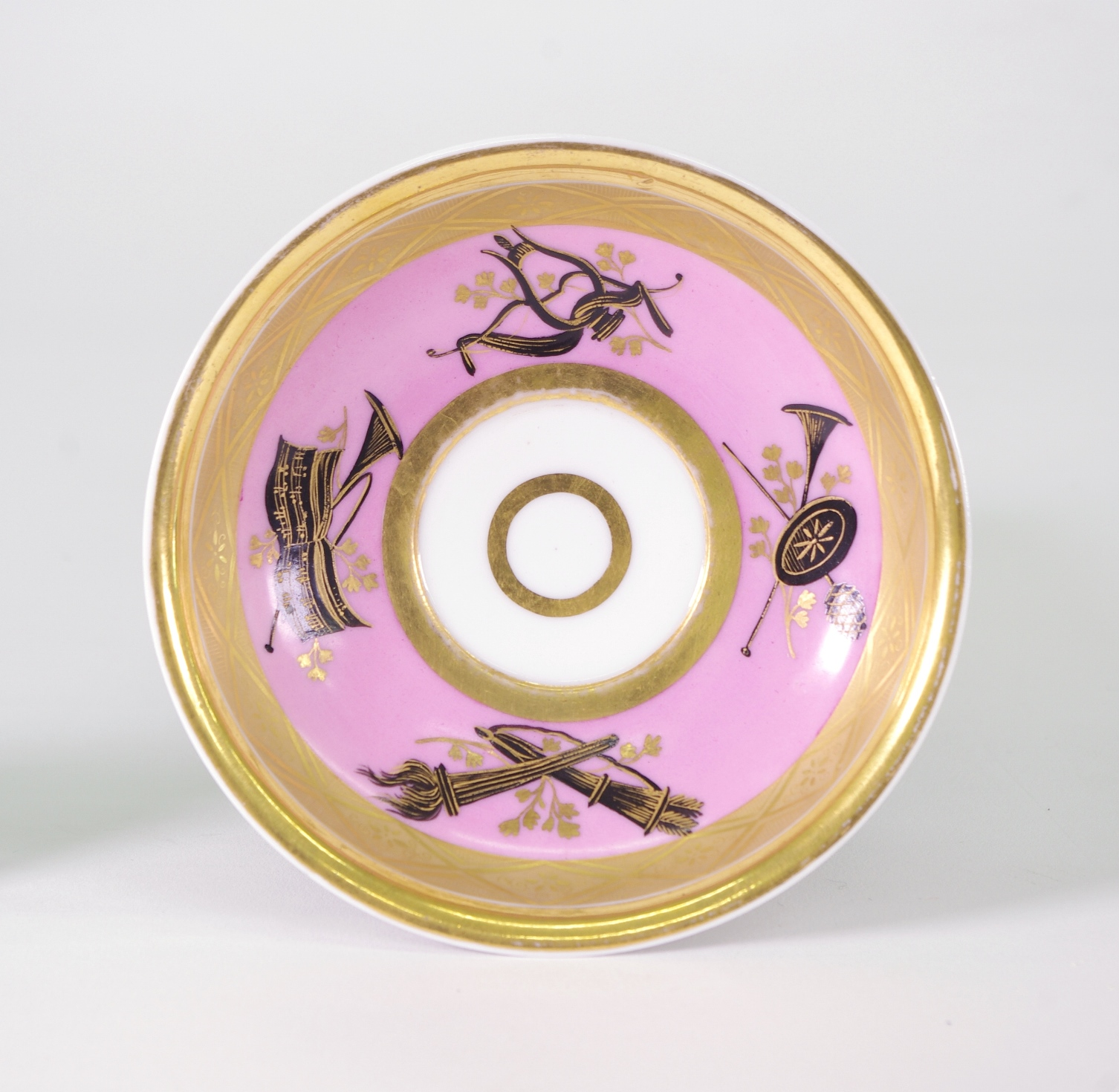 View 2: Popov Cup and Saucer, c. 1820