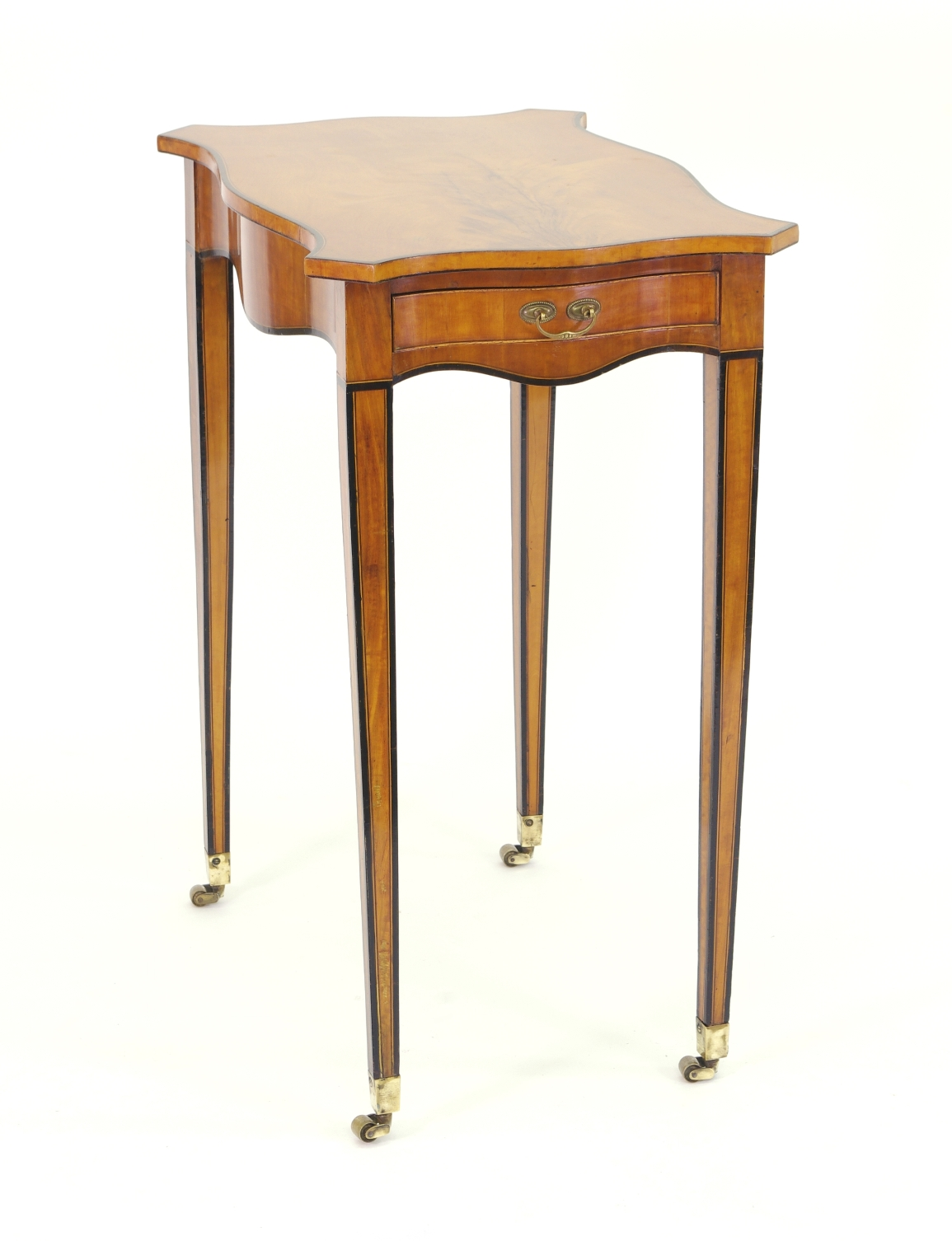 View 2: George III Satinwood Side Table, c. 1790