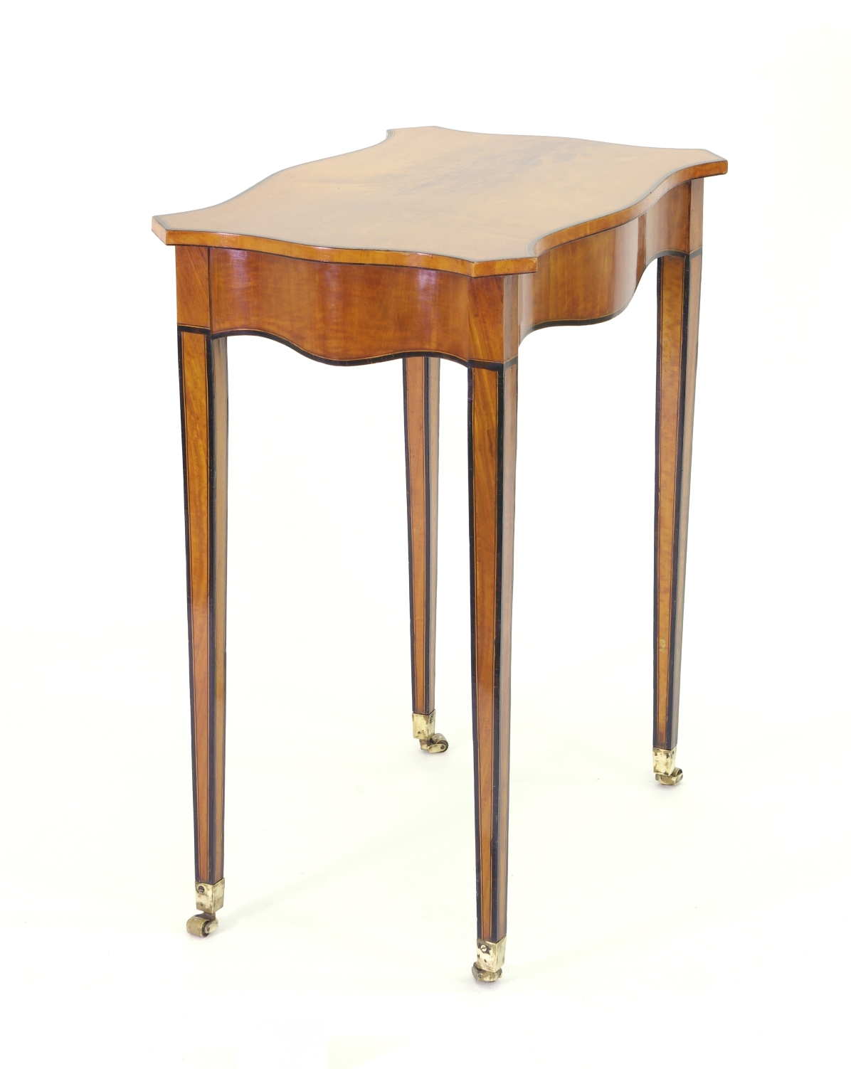 View 3: George III Satinwood Side Table, c. 1790