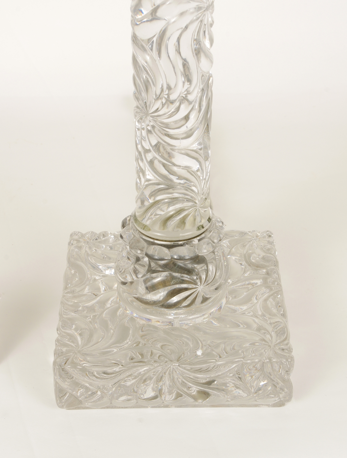 View 3: Signed Baccarat Crystal Lamp, c. 1880