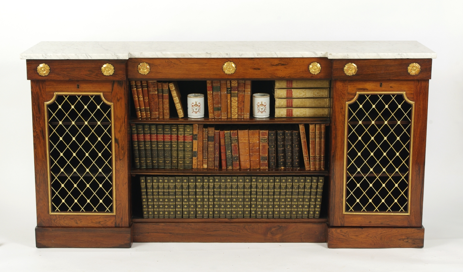 View 2: William IV Rosewood Side Cabinet, c. 1830