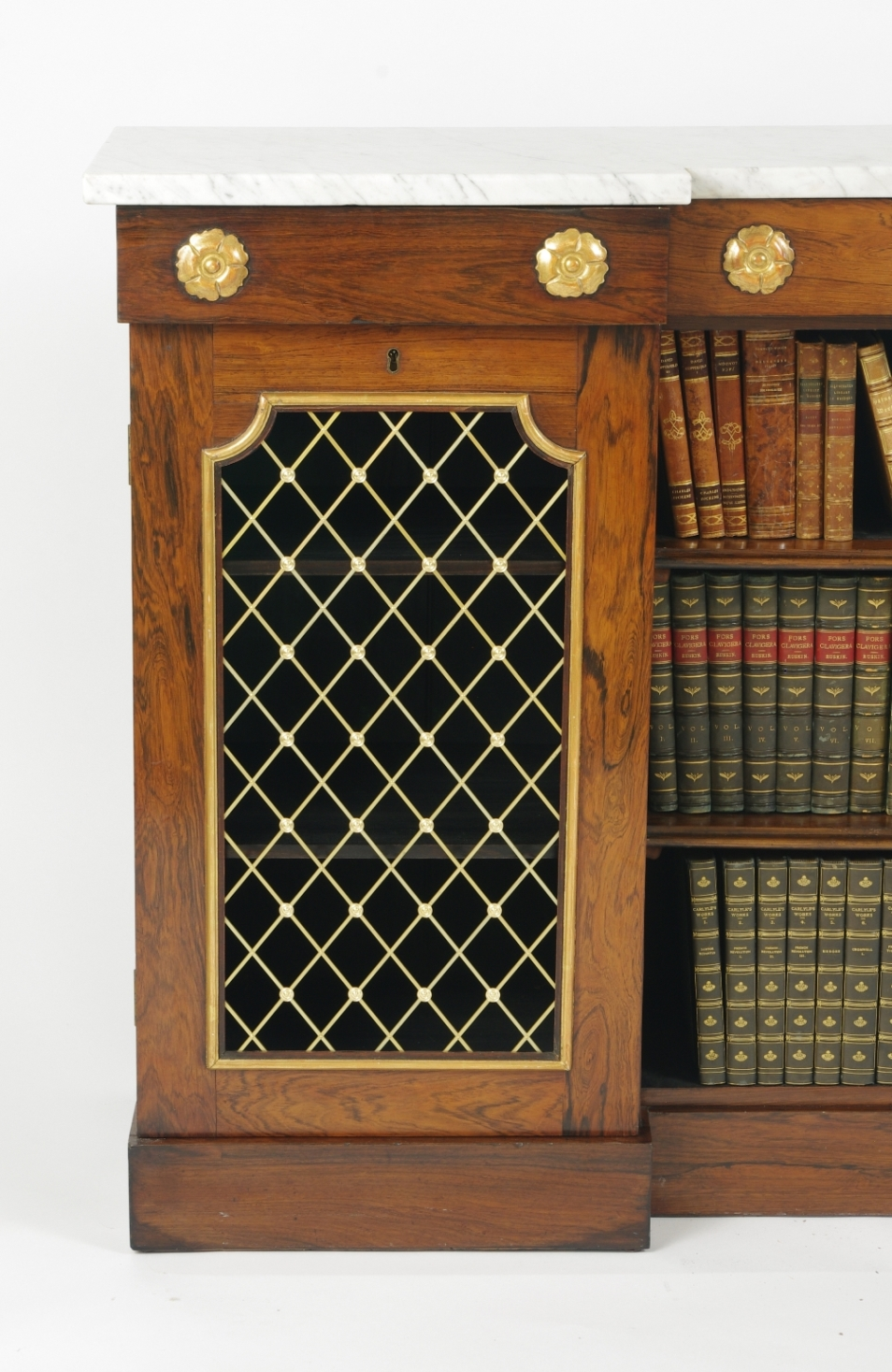 View 3: William IV Rosewood Side Cabinet, c. 1830
