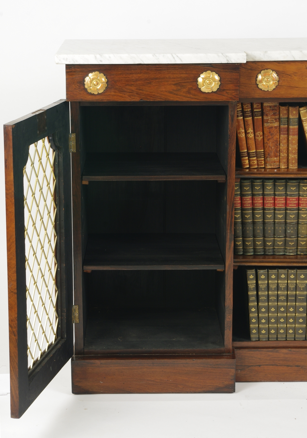 View 4: William IV Rosewood Side Cabinet, c. 1830