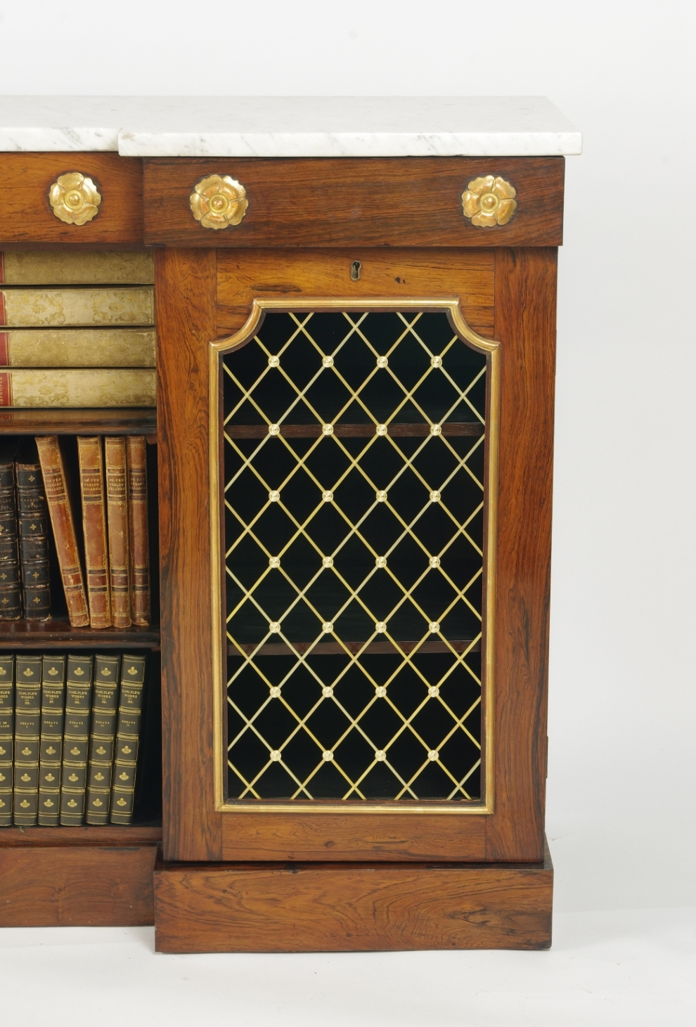 View 5: William IV Rosewood Side Cabinet, c. 1830