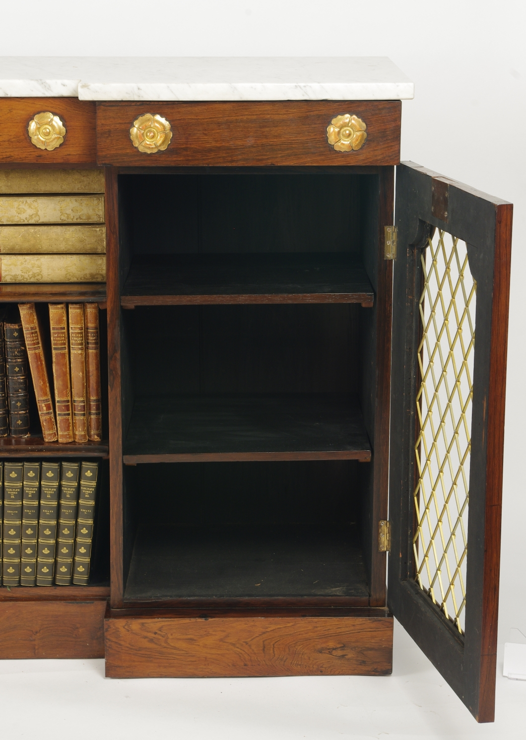 View 6: William IV Rosewood Side Cabinet, c. 1830
