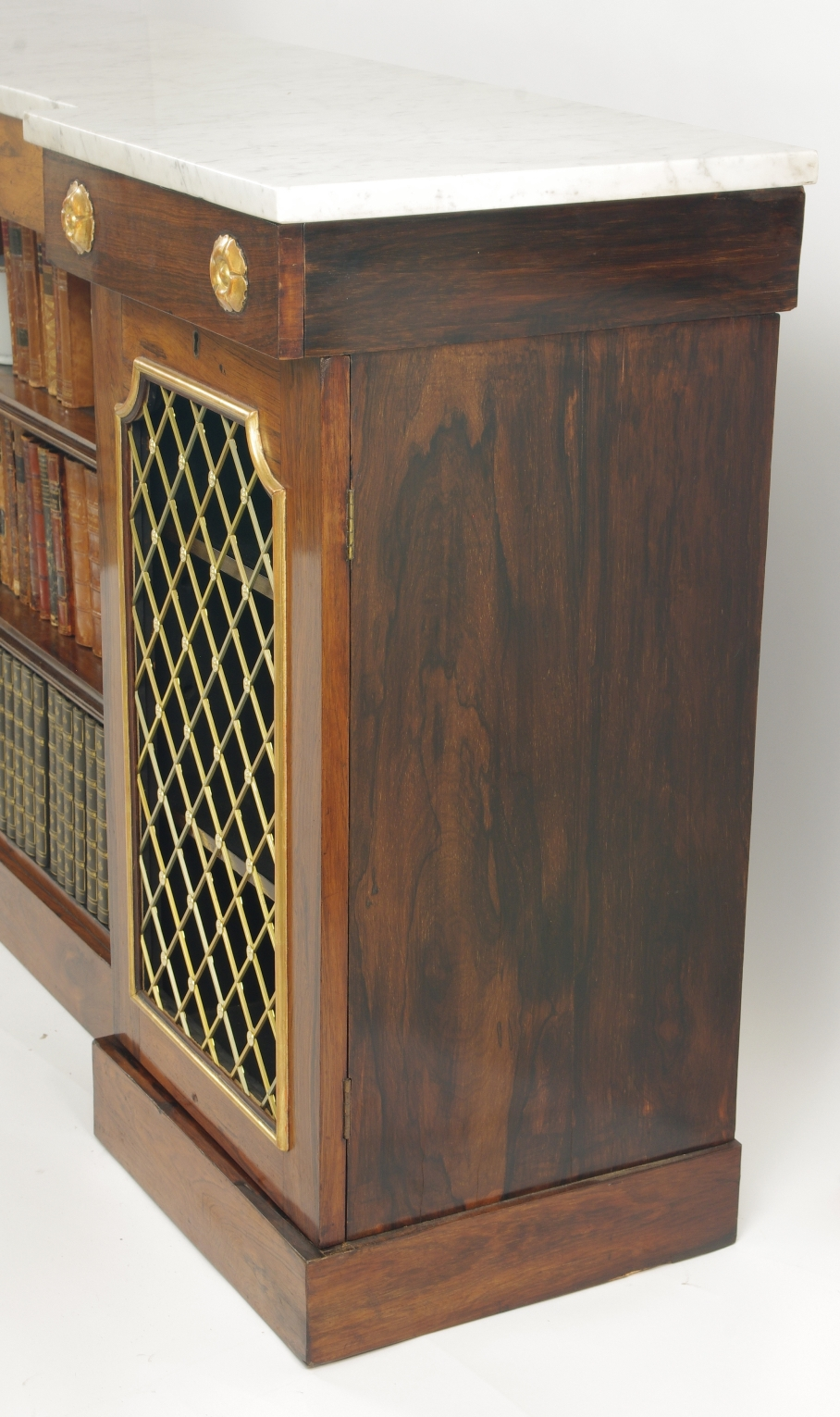 View 8: William IV Rosewood Side Cabinet, c. 1830