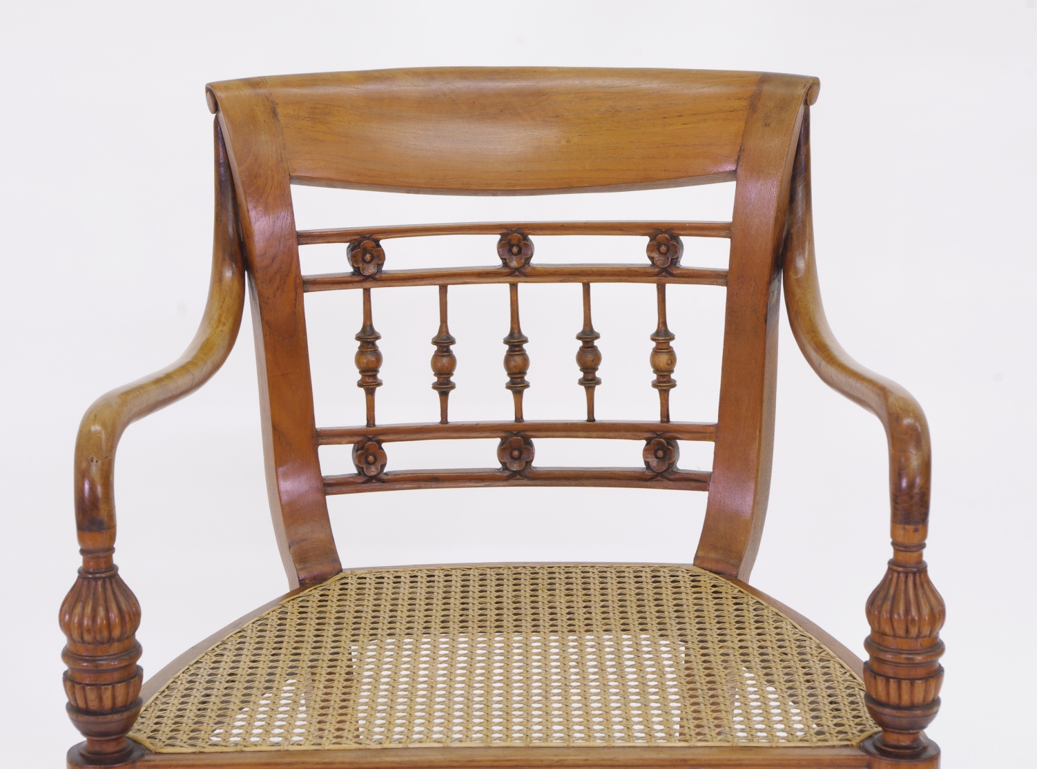 View 8: Set of Six British Colonial Dining Chairs, c. 1830
