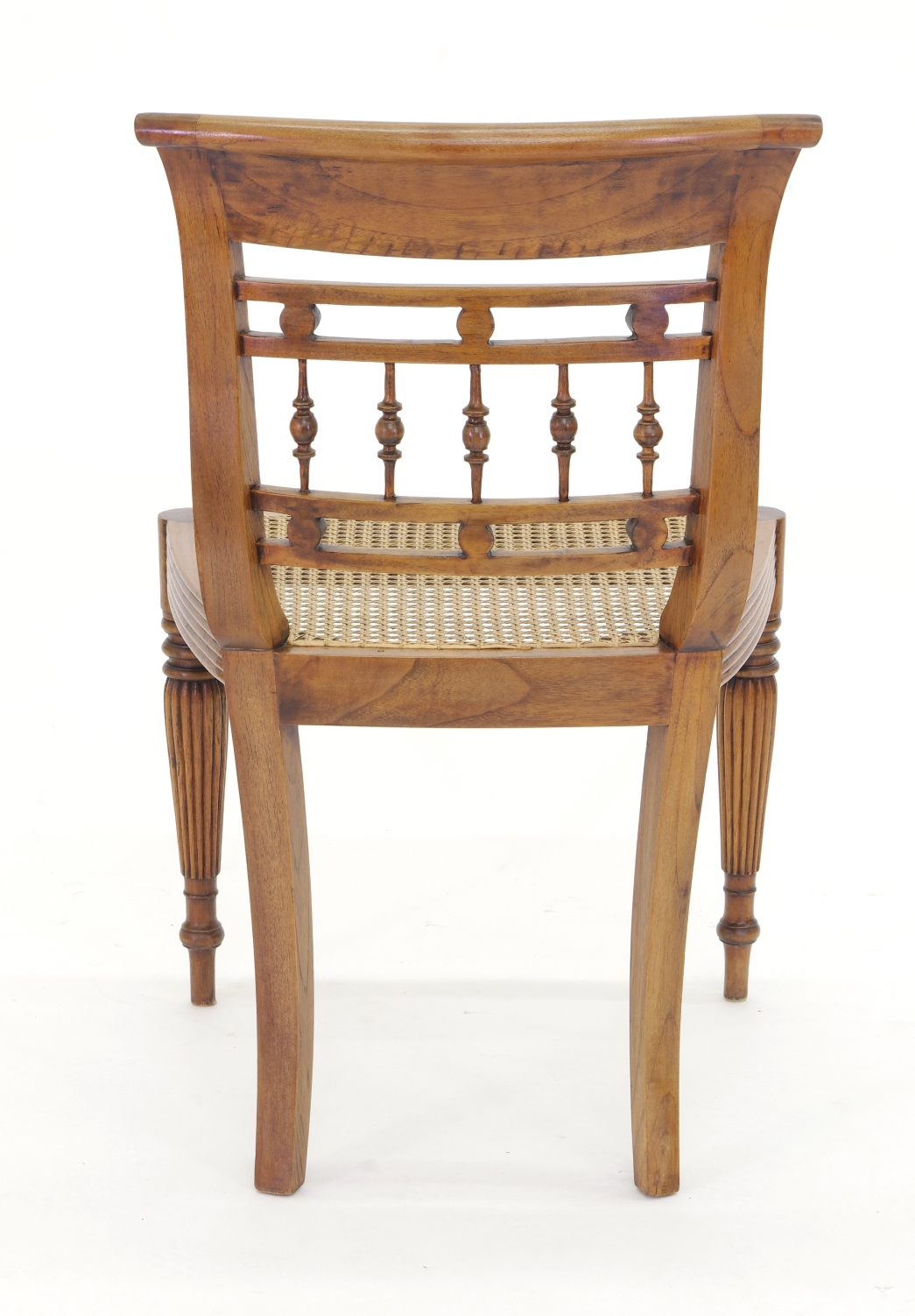 View 10: Set of Six British Colonial Dining Chairs, c. 1830
