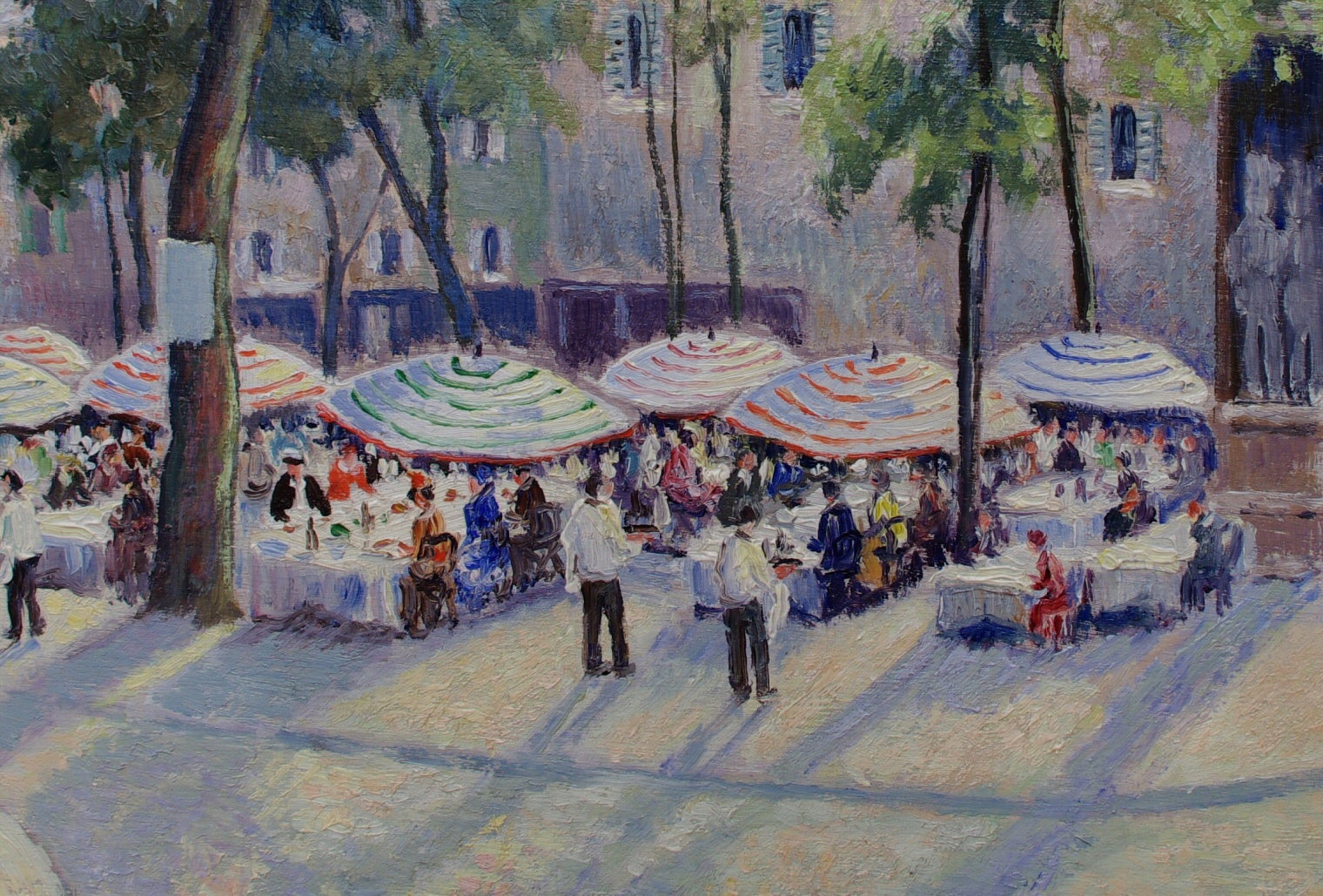 "View 3: Georges Manzana Pissarro (1871-1961) French ""Place du Tertre"""
