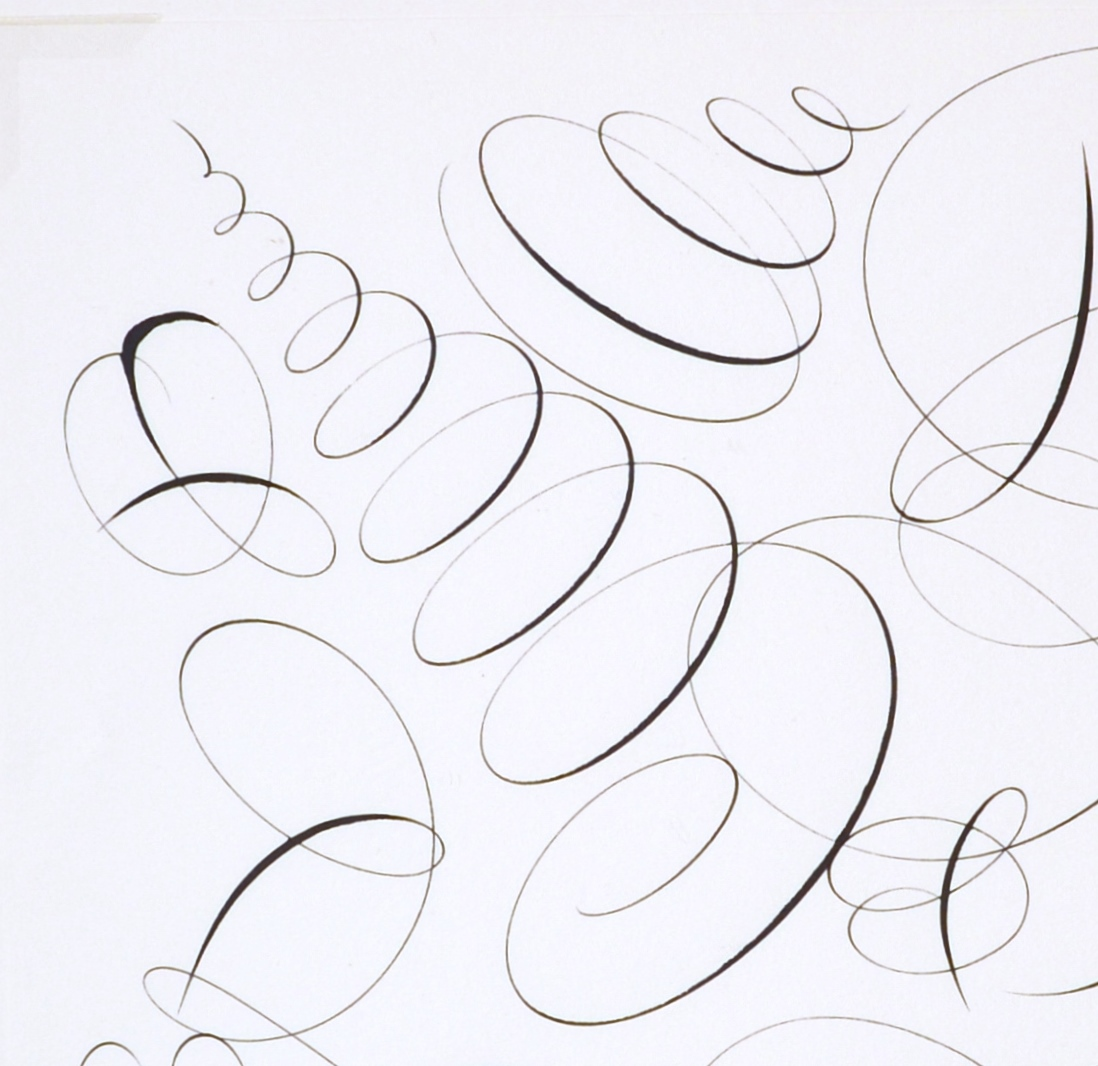 "View 3: ""Calligraphic Drawing #2"""
