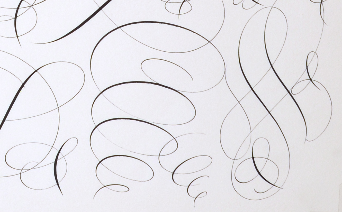 "View 4: ""Calligraphic Drawing #2"""