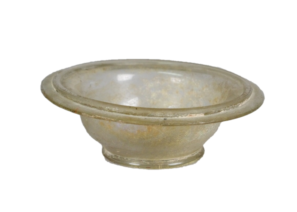 Roman Glass Bowl