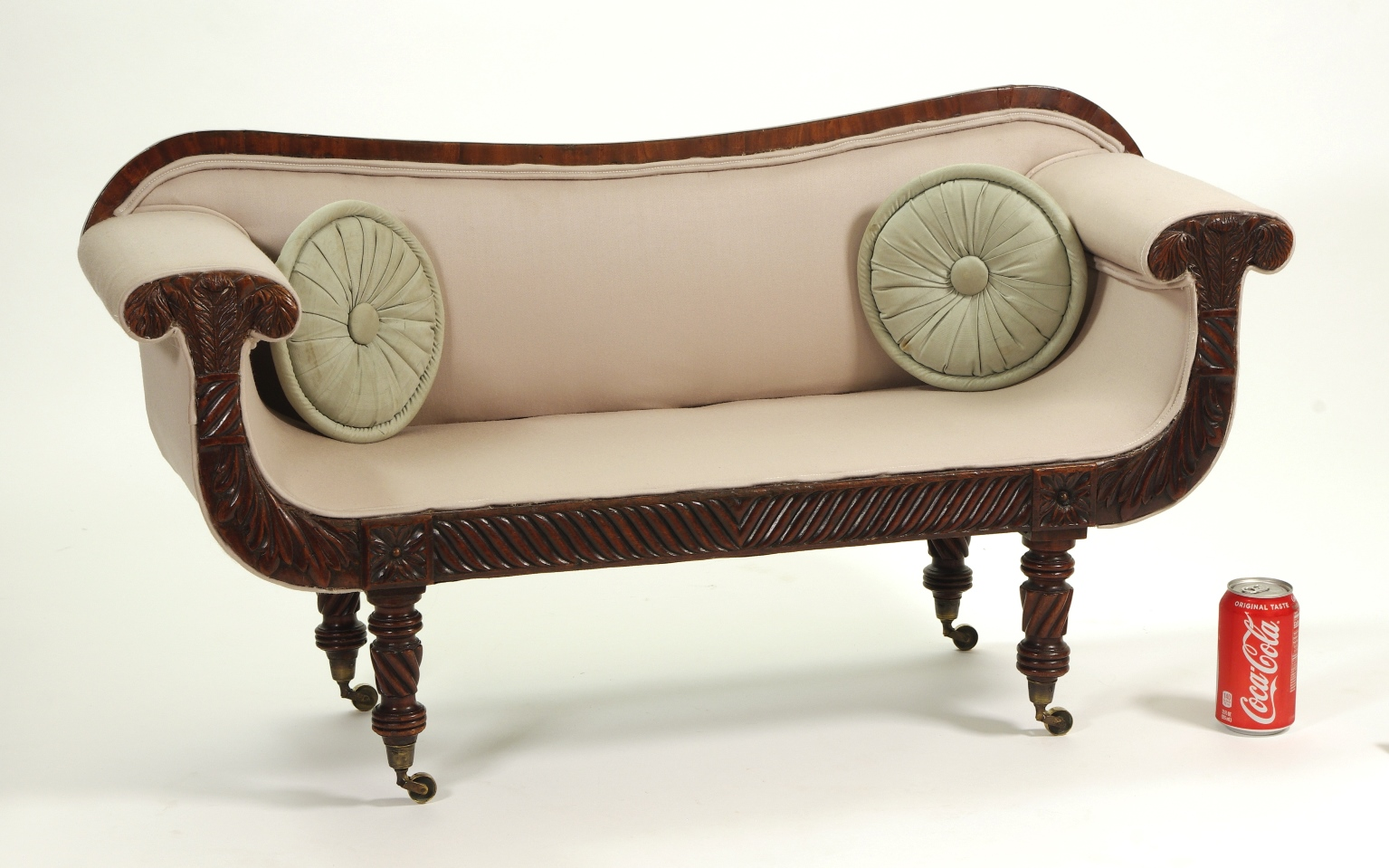View 5: Regency Mahogany Child's Sofa, c. 1820