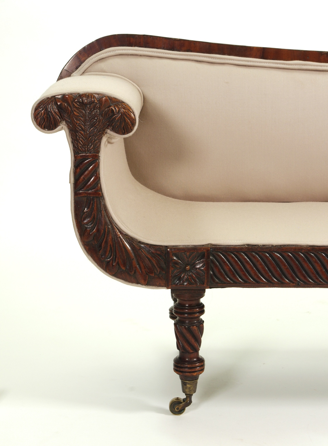 View 7: Regency Mahogany Child's Sofa, c. 1820