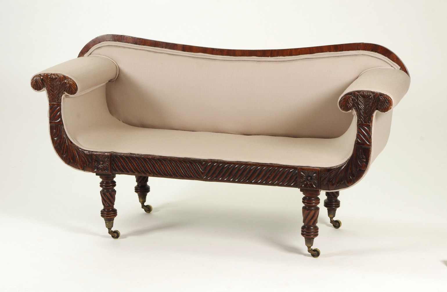 View 9: Regency Mahogany Child's Sofa, c. 1820