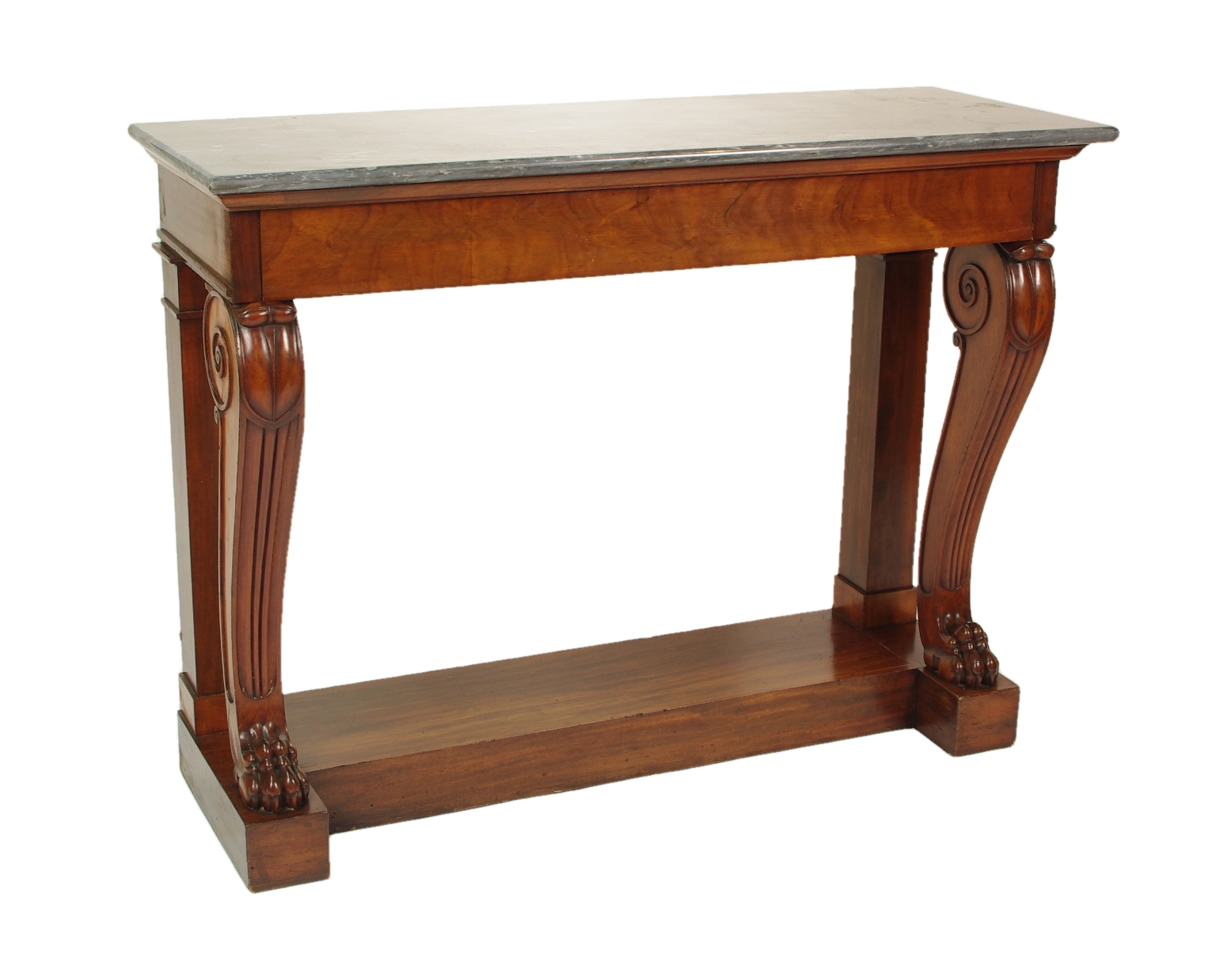View 1: Fine Charles X Mahogany Console Table