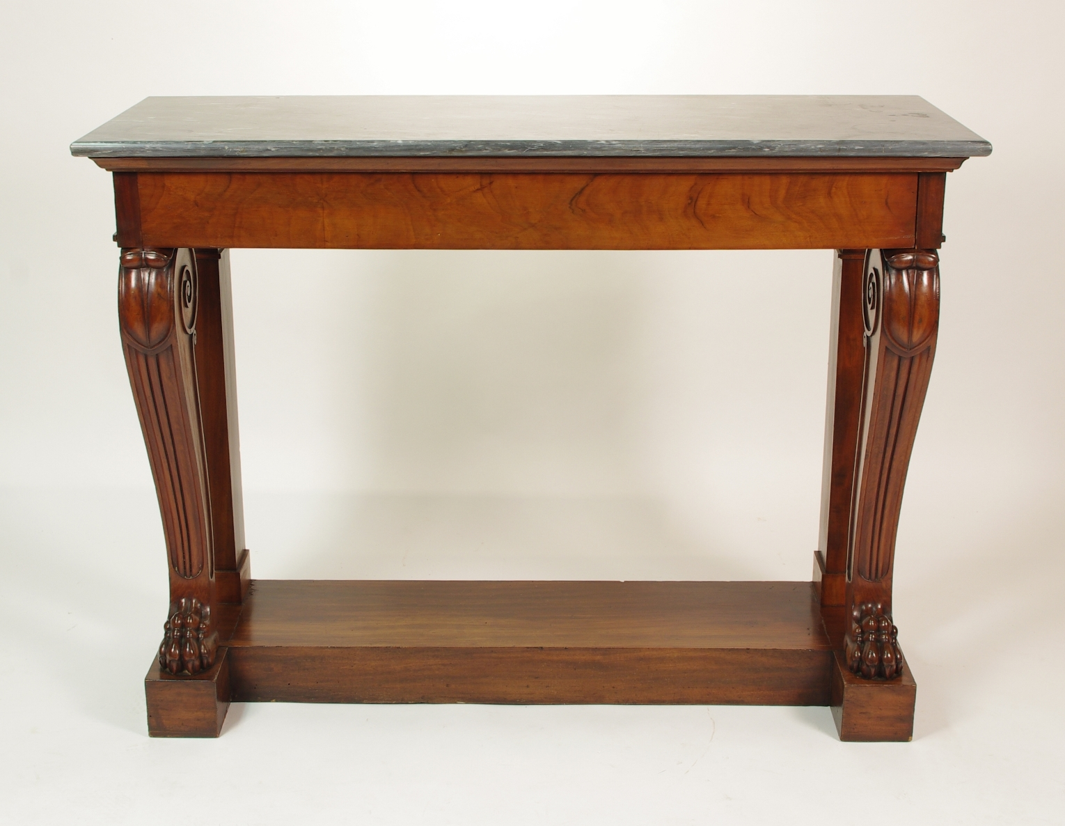 View 2: Fine Charles X Mahogany Console Table