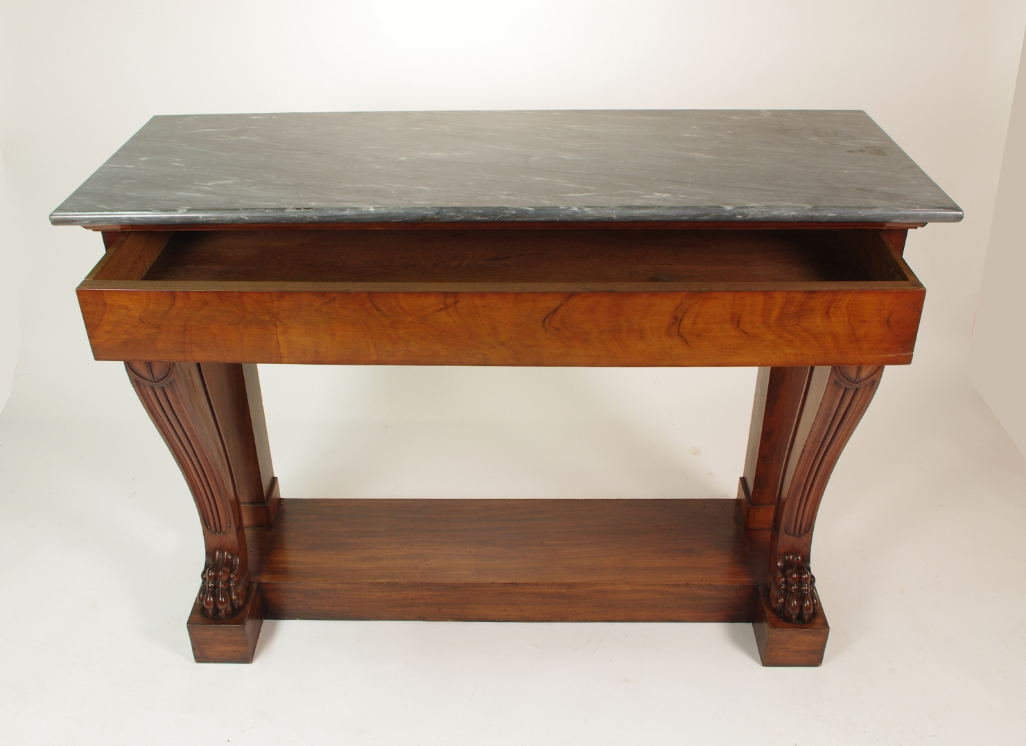 View 4: Fine Charles X Mahogany Console Table