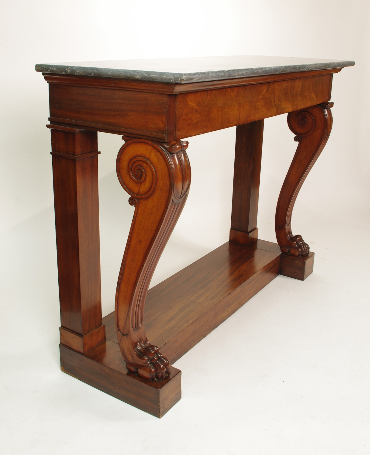 View 6: Fine Charles X Mahogany Console Table