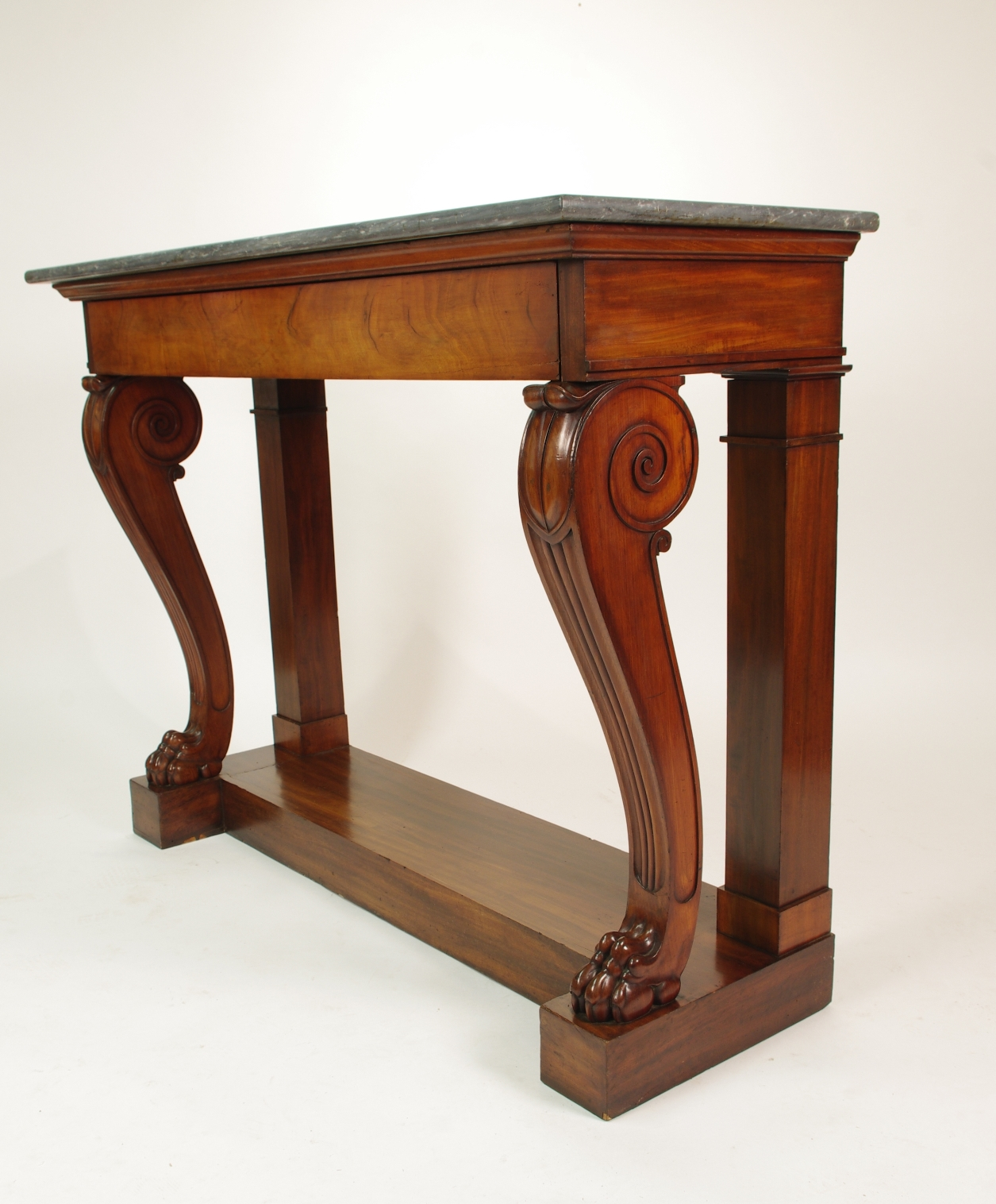 View 7: Fine Charles X Mahogany Console Table