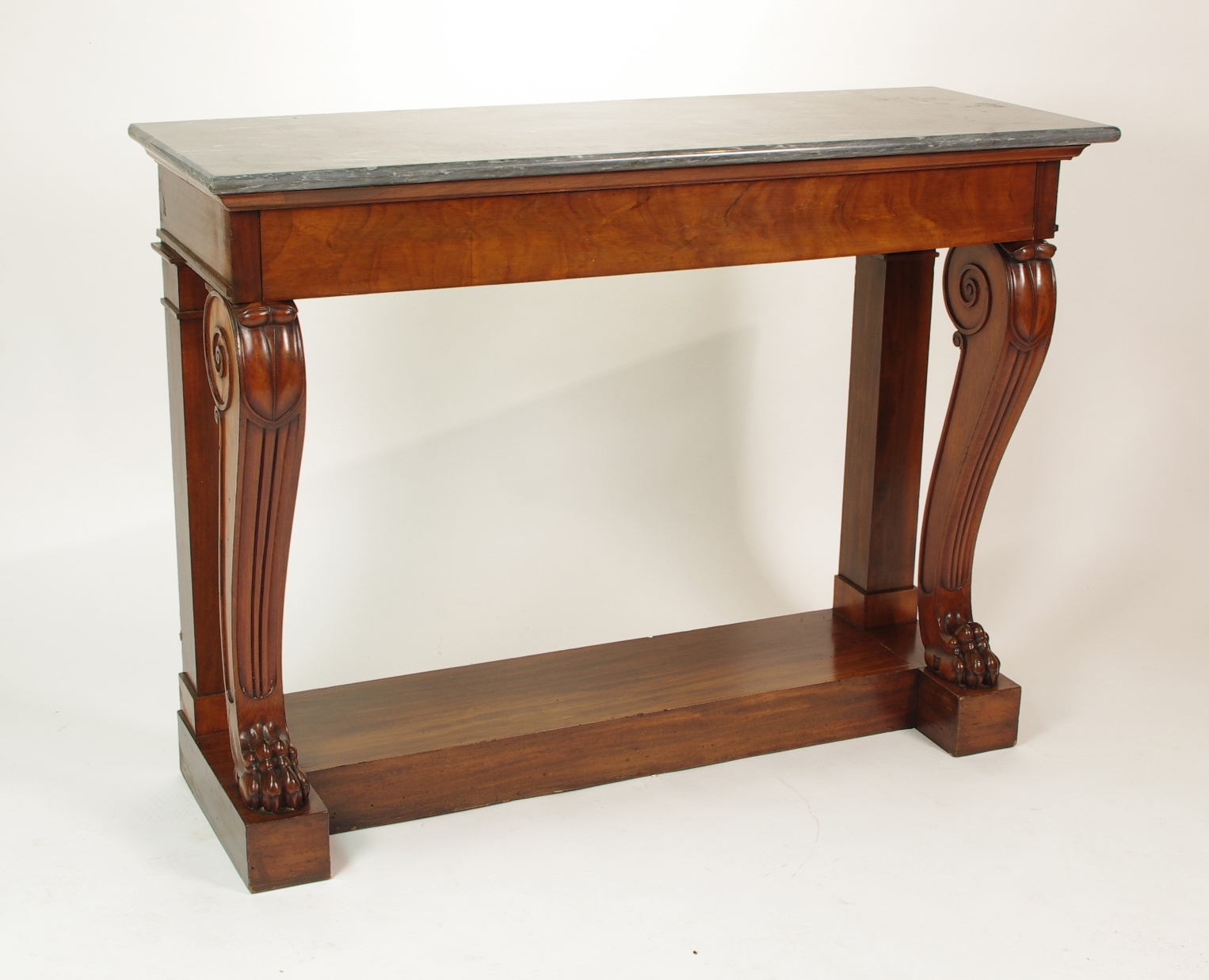 View 10: Fine Charles X Mahogany Console Table