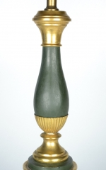 View 2: Green Tole Lamp, 19th c.