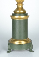 View 3: Green Tole Lamp, 19th c.