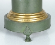 View 5: Green Tole Lamp, 19th c.
