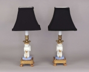 View 6: Pair of Paris Porcelain Putti Mounted as Lamps, c. 1810-20