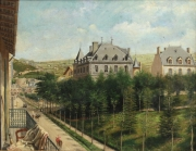 "View 2: Achille Ernest Mouret (19th c.) French, ""Villa Beausejour"", 1840-60"
