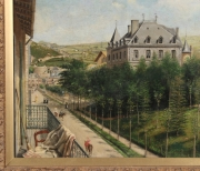 "View 3: Achille Ernest Mouret (19th c.) French, ""Villa Beausejour"", 1840-60"