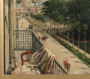 "View 4: Achille Ernest Mouret (19th c.) French, ""Villa Beausejour"", 1840-60"