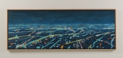 "View 3: Busy City Street in Blue  34"" x 50"""