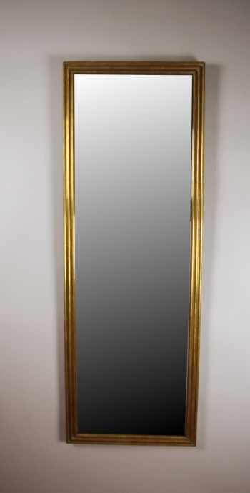 Louis Philippe Brass Mirror