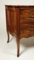 View 4: Louis XV Walnut Serpentine Chest of Two Drawers