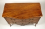 View 7: Louis XV Walnut Serpentine Chest of Two Drawers