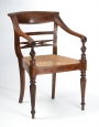 View 2: Four British Colonial Hardwood Open Armchairs